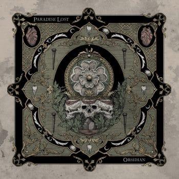 RockmusicRaider - Paradise Lost - Obsidian - Album Cover