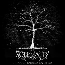 RockmusicRaider - Solemnity - Through Endless Darkness - Album Cover