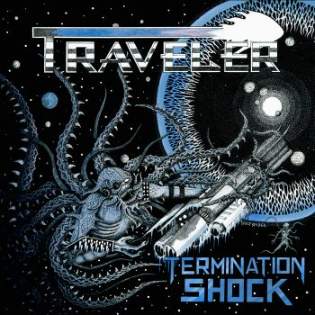 RockmusicRaider - Traveler - Termination Shock - Album Cover