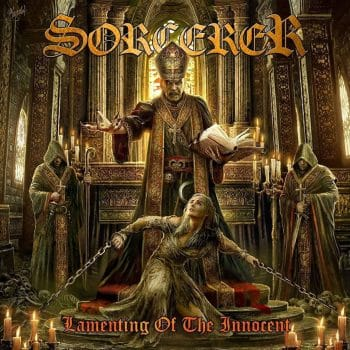 RockmusicRaider - Sorcerer - Lamenting of the Innocent- Album Cover
