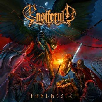 RockmusicRaider - Ensiferum - Thalassic - Album Cover