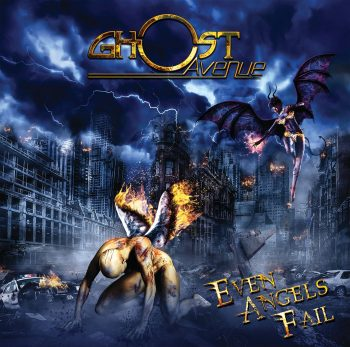 RockmusicRaider - Ghost Avenue - Even Angels Fail - Album Cover