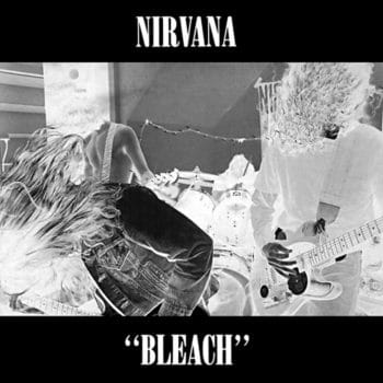 RockmusicRaider - Nirvana - Bleach - Album Cover