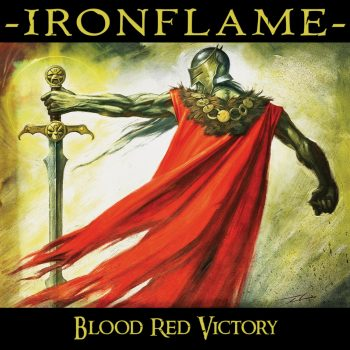 RockmusicRaider - Ironflame - Blood Red Victory - Album Cover