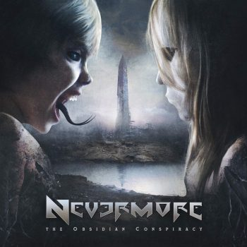 RockmusicRaider - Nevermore - The Obsidian Conspiracy - Album Cover