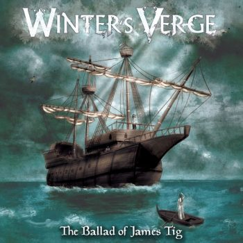 RockmusicRaider - Winter's Verge - The Ballad of James Tig - Album Cover