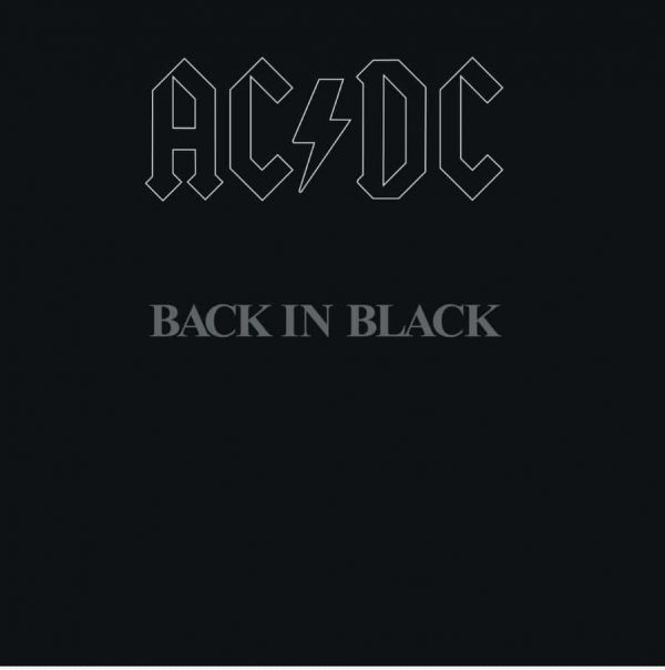 RockmusicRaider - AC/DC - Back in Black - Album Cover
