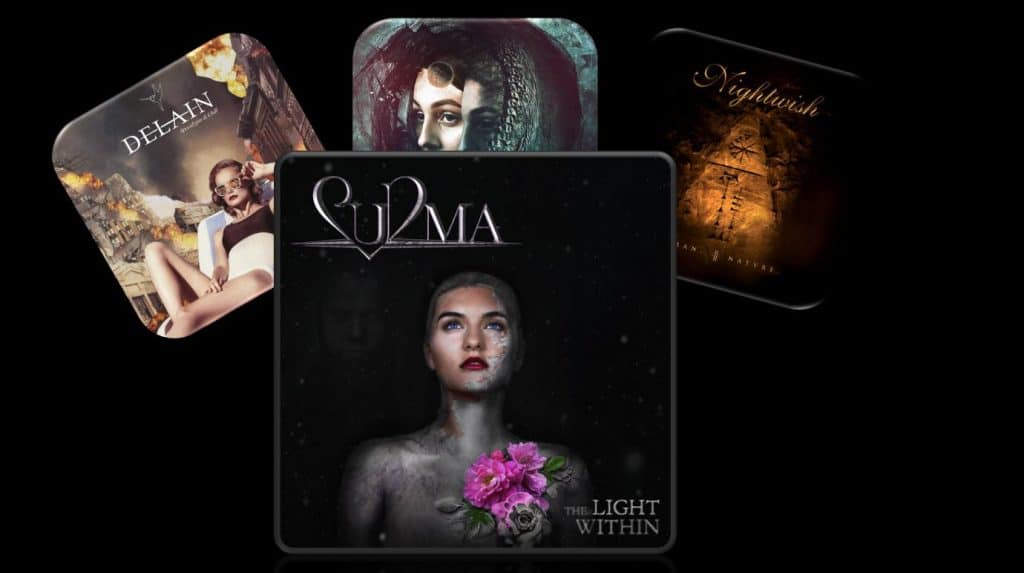 RockmusicRaider - Symphonic Metal in 2020 - Delain - Diabulus in Musica - Nightwish - Surma