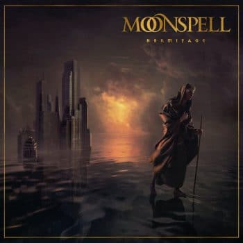 RockmusicRaider - Moonspell - Hermitage - Album Cover
