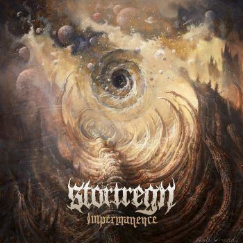 RockmusicRaider - Stortregn - Impermanence - Album Cover