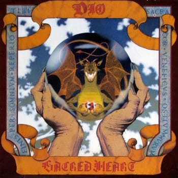 RockmusicRaider - Dio - Sacred Heart - Album Cover