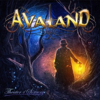 RockmsuicRaider - Avaland - Theater of Sorcery - Album Cover