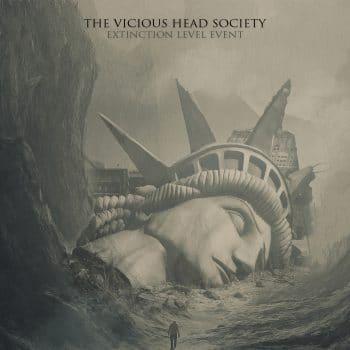 RockmusicRaider - The Vicious Head Society - Extinction Level Event - Album Cover