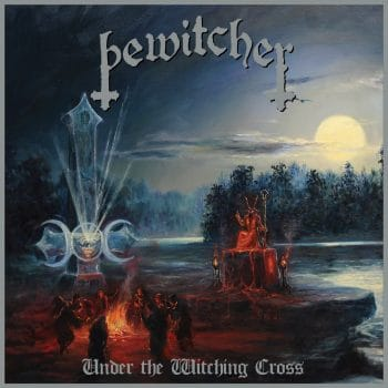 RockmusicRaider - Bewitcher - Under The Witching Cross - Album Cover
