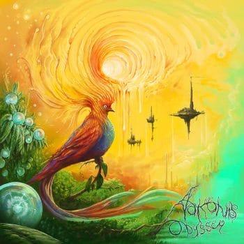 RockmusicRaider - Arkonis - Odyssey - Album Cover