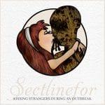 RockmusicRaider - Sectlinefor - Kissing Strangers During An Outbreak - Album Cover