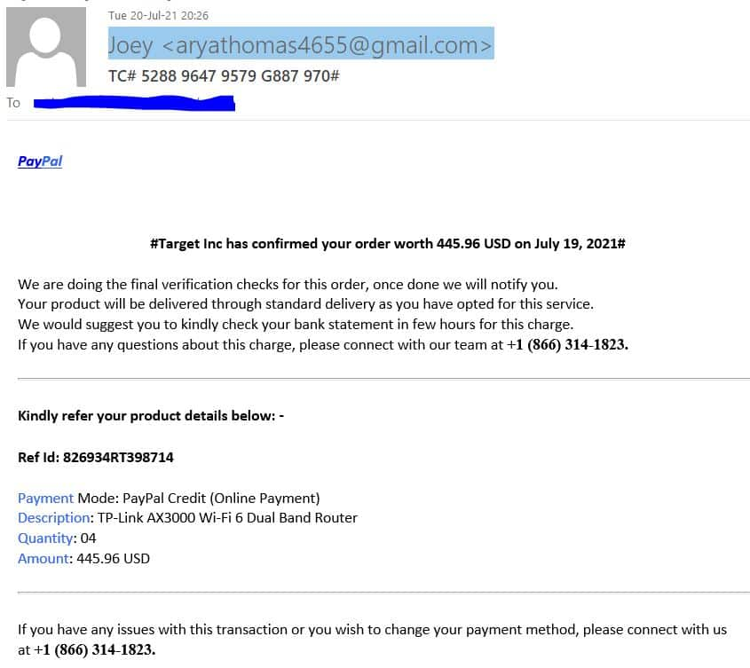 RockmusicRaider Pillory - PayPal Scam