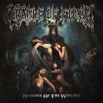 Rockmusicraider - Cradle of Filth - Hammer of the Witches - Album Cover