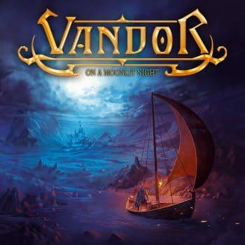 RockmusicRaider - Vandor - On a Moonlit Night - Album Cover