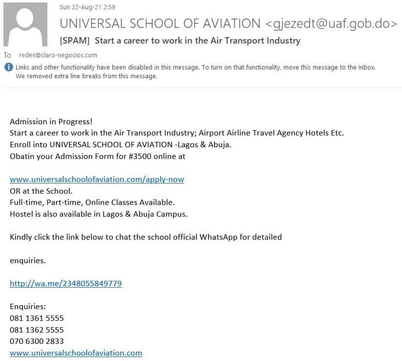 RockmusicRaider - Universal School of Aviation Scam