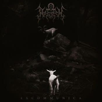 RockmusicRaider - Argesh - Excommunica - Album Cover