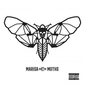 RockmusicRaider - Marisa and the Moths - Self-Titled - Album Cover