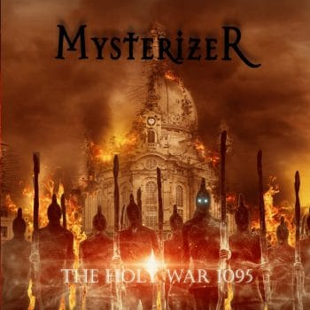 RockmusicRaider - Mysterizer - The Holy War 1095 - Album Cover