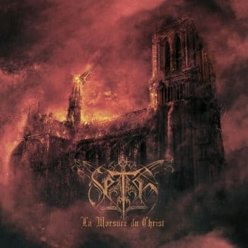 RockmusicRaider - Seth - La Morsure du Christ - Album Cover
