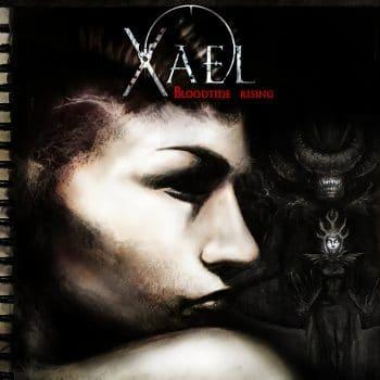 RockmusicRaider - Xael - Bloodtide Rising - Album Cover