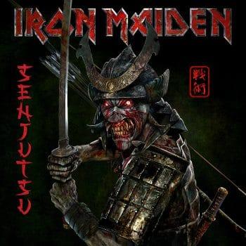 RockmusicRaider - Iron Maiden - Senjutsu - Album Cover