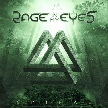 RockmusicRaider - Rage in my Eyes - Spiral - Album Cover